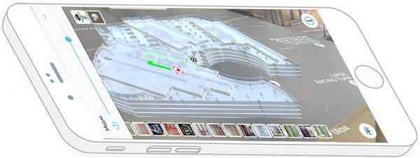 Навигация в помещениях с применением дополненной реальности. AR навигация.
